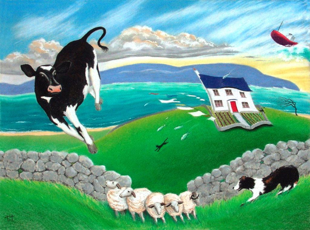 Windy day in Connemara