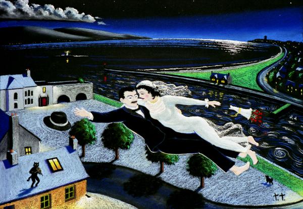 Dreams of Gal Wedding by Ted Turton