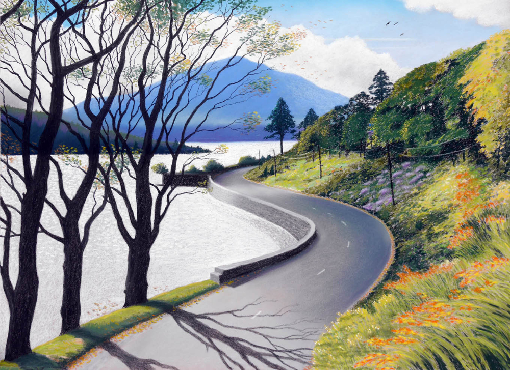 The Road to Kylemore   €600 SOLD