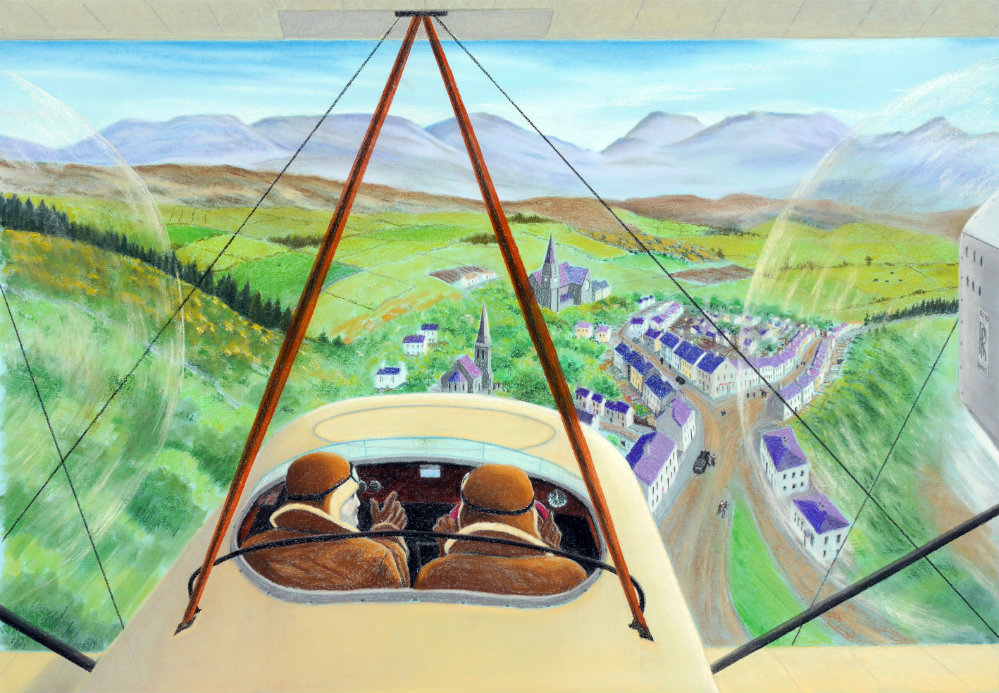 Vickers Vimy in Clifden 3   SOLD