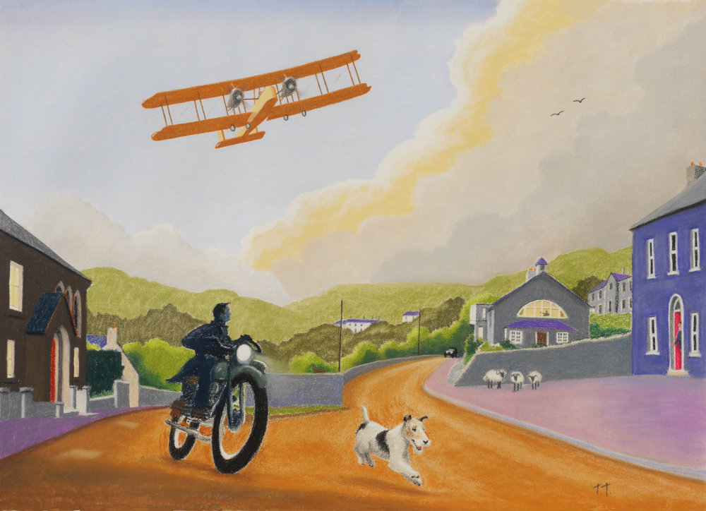 Vickers Vimy in Clifden - €650